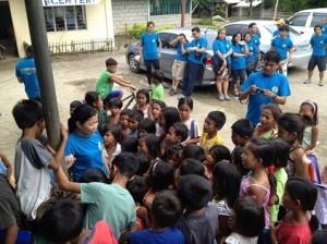 """Closing Remarks  The kids approached me because they knew am going to give something. """"Mag-aral kayong mabuti mga bata upang marami pang grupo ang pumunta dito at magbigay ng saya at tulong sa inyo."""" That's what they've got, a piece of advice…and eraser :)"""