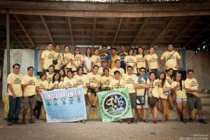 SMB with teachers. Goodbye Sitio San Pedro Elementary School!
