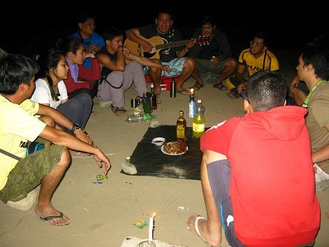 The favorite part of camping..socials socials socials!!!