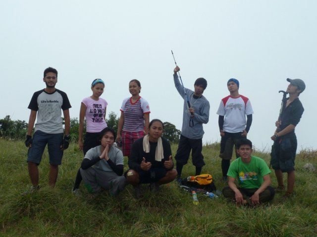 Team at the Summit of Mt. Natib